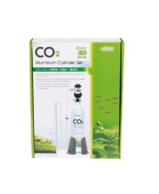 0.5L CO2 Aluminum Cylinder Set Face up - Basic